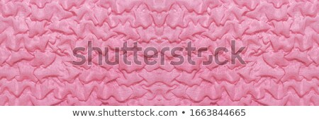 Pink fabric drapes with ornament, background Stock photo © Ecelop
