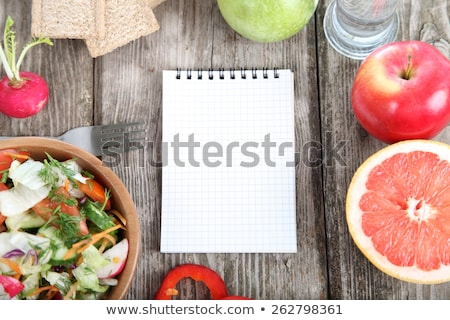 Diet journal.  Stock photo © REDPIXEL