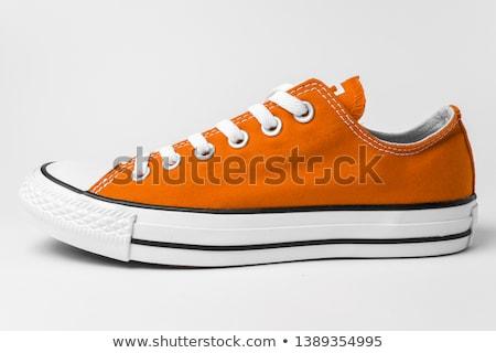 Orange shoe Stock photo © cozyta