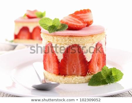 delicious shortcake Stock photo © M-studio