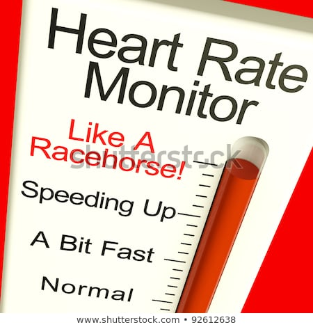 Heart Rate Monitor Showing Cardiac And Coronary Health  Stock photo © stuartmiles