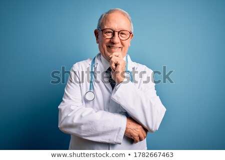 Grey-haired doctor Stock photo © photography33