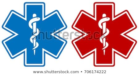medical star symbols stock photo © lkeskinen