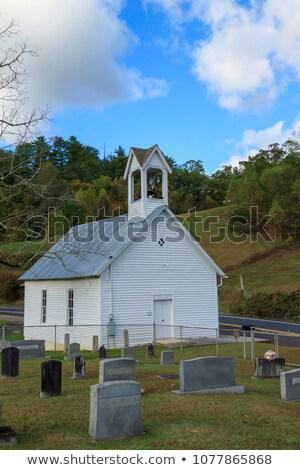 wood chapel Stock photo © pedrosala