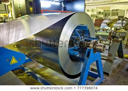 galvanize · panel · yüzey · posterler · duvar · Metal - stok fotoğraf © pzaxe