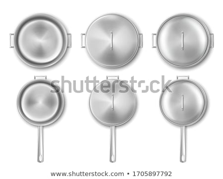 Stainless Steel Lid Stock photo © ca2hill