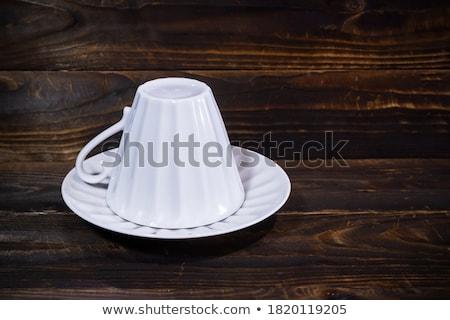cup with dish stock photo © ruzanna