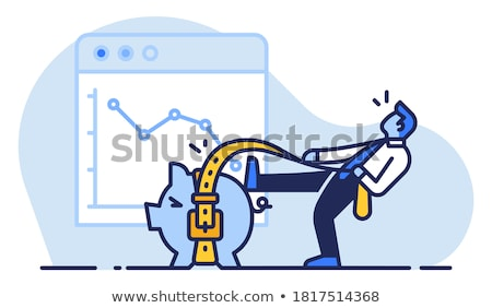 An austere businessman Stock photo © photography33