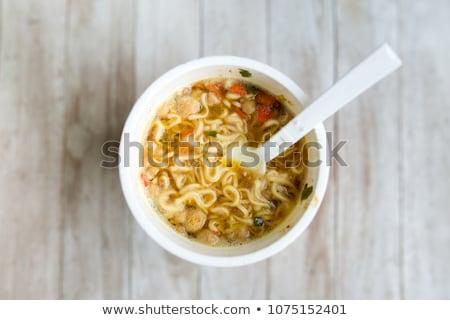 makarna · yalıtılmış · fincan · beyaz · gıda - stok fotoğraf © kitch