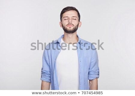 gut · aussehend · jungen · nachdenklich · Geschäftsmann · Denken · etwas - stock foto © wavebreak_media