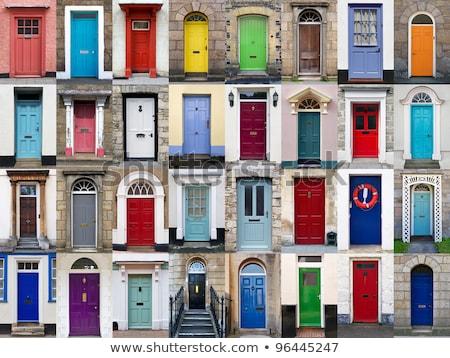 ev · renkler · inşaat · pencere · yeşil · altın - stok fotoğraf © bassile