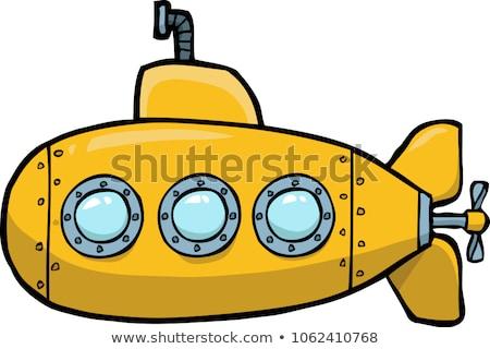 żółty podwodny streszczenie wektora sztuki ilustracja Zdjęcia stock © robertosch