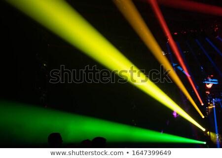 青 · ステージ · 光 · コンサート · ランプ · 黒 - ストックフォト © lightsource