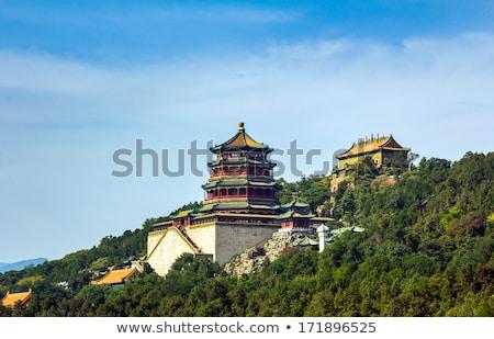 Domb torony illat Buddha nyár palota Stock fotó © billperry