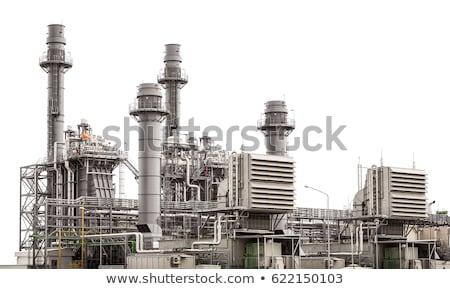 Industrial Tube factory building Stock photo © vichie81
