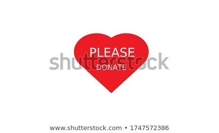 Please Donate Stock photo © kbuntu