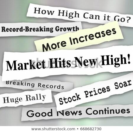 főcím · piacok - stock fotó © devon