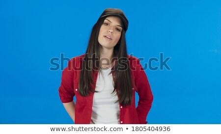 moda · stylu · studio · Fotografia · cute · brunetka - zdjęcia stock © pawelsierakowski