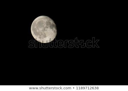 Waning Gibbous Moon Stock photo © suerob