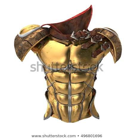 Stock photo: Legionary soldier ready for a fight