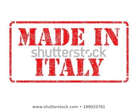 exportar · produto · Itália · papel · caixa - foto stock © tashatuvango