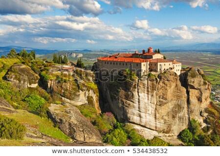 горные · монастырь · гор · Черногория · лес · природы - Сток-фото © mahout