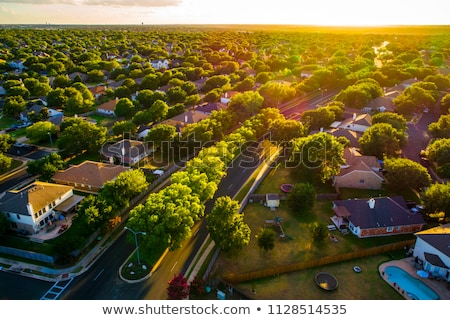 Suburb at Sunset stock photo © Kayco