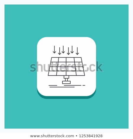 Smart Grid on Turquoise in Flat Design. Stock photo © tashatuvango