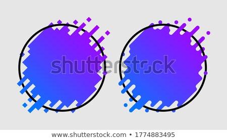 cyber monday on blue puzzle stock photo © tashatuvango