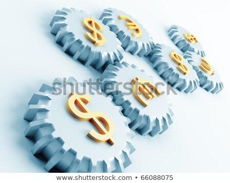 globalny · waluta · symbolika · biały · szary · ceny - zdjęcia stock © serp
