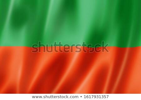 Tilki ulus bayrak yerli insanlar simge Stok fotoğraf © tony4urban