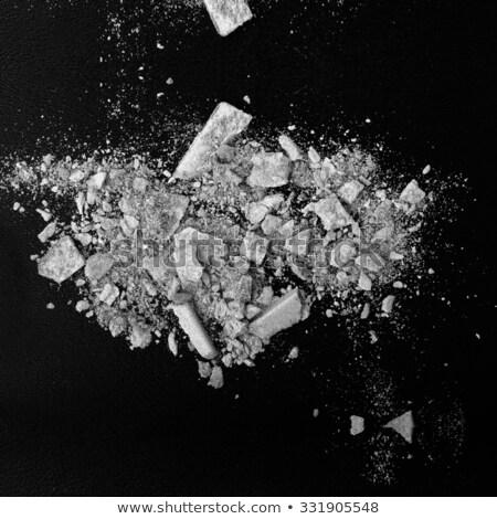 Mascara zwarte exemplaar ruimte dramatisch verlichting achtergrond Stockfoto © tobkatrina