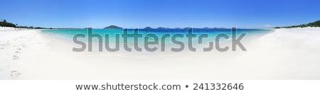 Playa escénico panorama mentiras oeste rocas Foto stock © lovleah