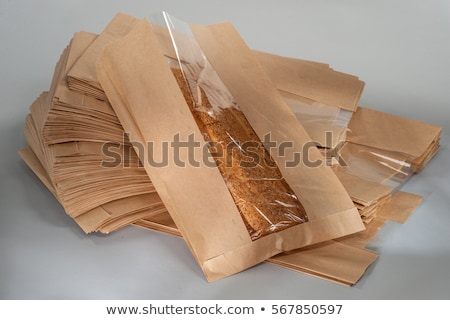 brown bread in paper packing  Stock photo © OleksandrO