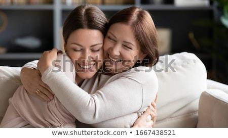 Genegenheid twee verliefd mensen tonen liefde Stockfoto © pressmaster