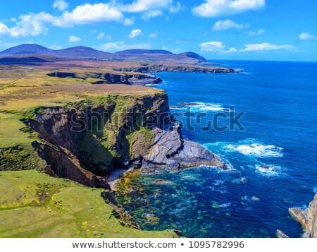 ビーチ · 海岸 · 半島 · 夏 · アイルランド · 海 - ストックフォト © morrbyte
