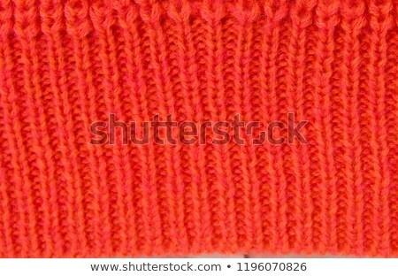 вязанье синий серый горизонтальный простой Сток-фото © ozgur