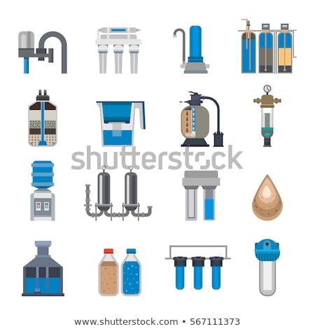 water · filteren · pompen · fles - stockfoto © FOKA