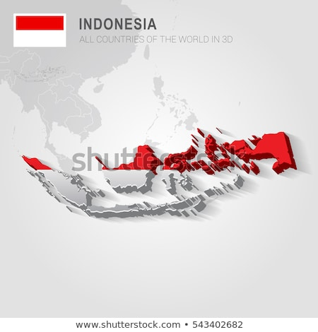 Indonesia and Indonesia Flags in puzzle  Stock photo © Istanbul2009