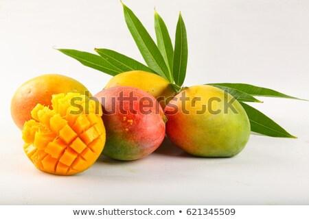 緑 マンゴー 白 果物 ダイエット ストックフォト © dolgachov