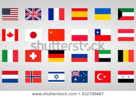 Германия Кувейт флагами головоломки изолированный белый Сток-фото © Istanbul2009