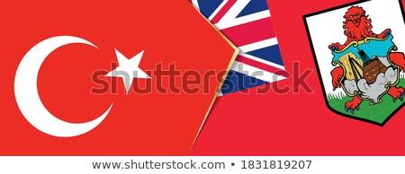 Turquia bandeiras quebra-cabeça isolado branco negócio Foto stock © Istanbul2009