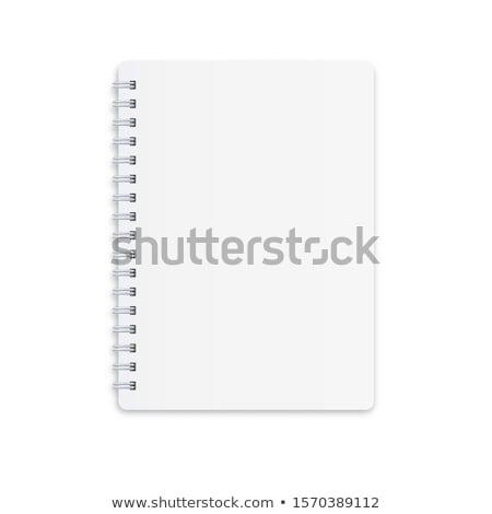 Pierścień napis korespondencja pracy tabeli Zdjęcia stock © tashatuvango
