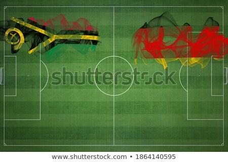 Stok fotoğraf: Almanya · Vanuatu · bayraklar · bilmece · yalıtılmış · beyaz