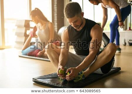male legs in health club Stock photo © Paha_L