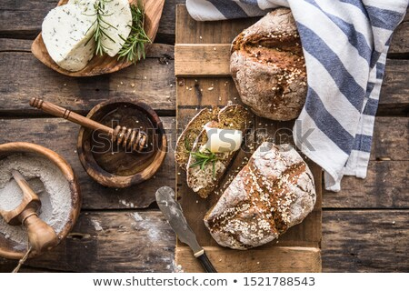 Irish Soda Bread on White Background Stock photo © rojoimages