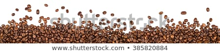 кофе · коричневый · ткань · продовольствие · ложку - Сток-фото © karandaev
