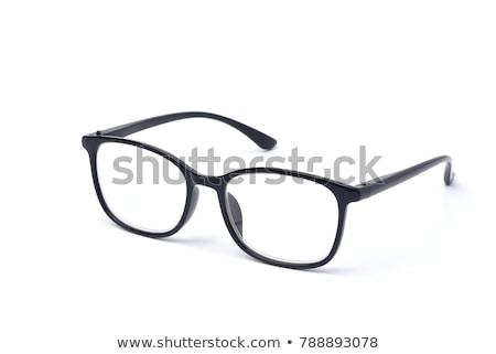 Przezroczysty okulary odizolowany biały medycznych okulary Zdjęcia stock © vapi