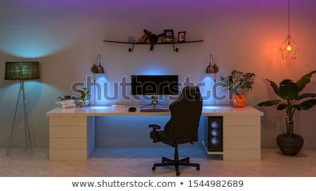 профессиональных · широкий · контроля · изолированный · белый · столе - Сток-фото © shutswis