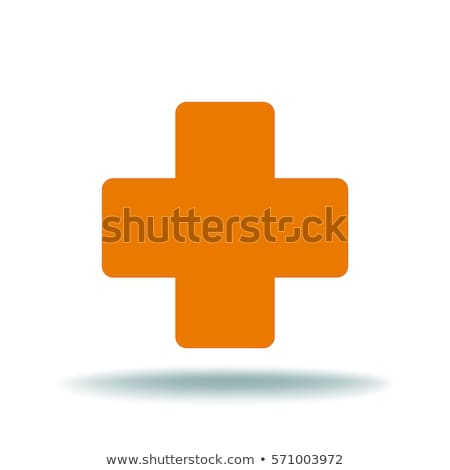 heartbeat and medical cross Stock photo © djdarkflower